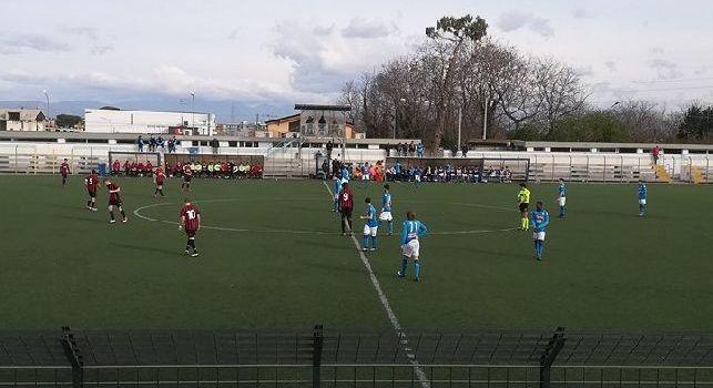 Primavera, Napoli-Milan 1-1 (53' Tiago Dias, 95' Palmieri): Palmieri regala il pari, rossoneri beffati nel finale