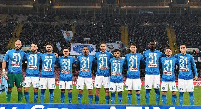 Napoli-Lazio dalla A alla Z: da Jorginho <i>versione Dante</i> a <i>Davide</i> Insigne. Zielinski canta a San...Paolo, 'campo pagato e Gatorade' per Tonelli e la rete in stile Futsal