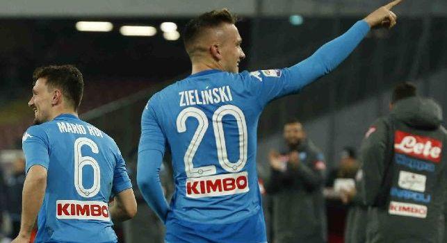Sky, De Rosa: Zielinski è devastante ma deve giocare a centrocampo, il calcio italiano non domina da anni