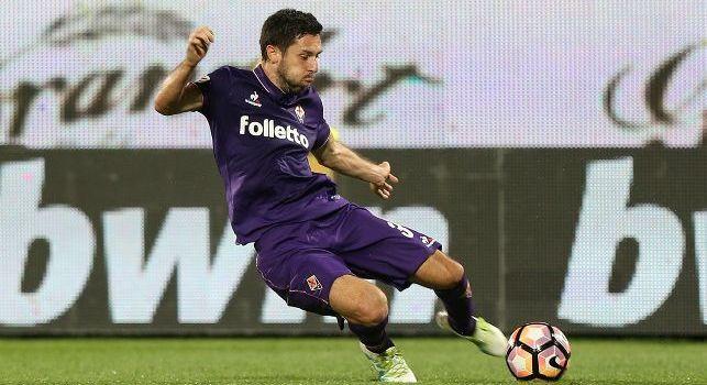 Hrvoje Milic con la maglia della Fiorentina