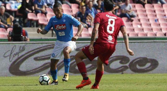 Cagliari, infortunio per Cigarini contro il Sassuolo: in dubbio per la sfida al Napoli