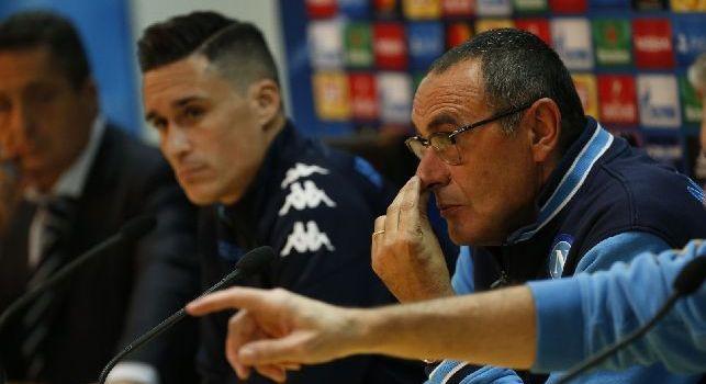 Napoli - Lipsia, domani le conferenze stampa di Sarri e Hasenhuttl in diretta video su CalcioNapoli24