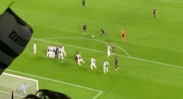 La barriera oh!: Eriksen zittisce l'Allianz Stadium, bestemmie in curva al pareggio del Tottenham [VIDEO]