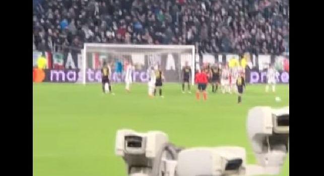 Juve-Tottenham, il gol di Eriksen live dal settore ospiti: beffa clamorosa, tifosi inglesi scatenati [VIDEO]