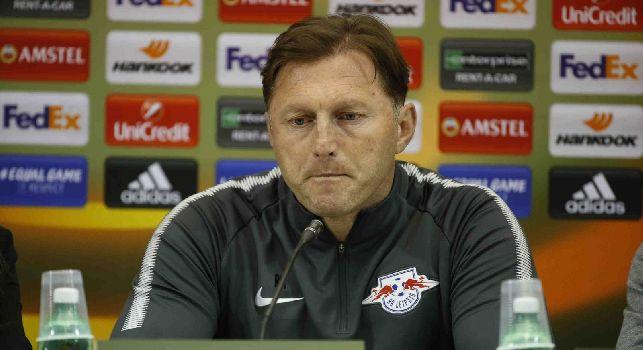Lipsia, Hasenhüttl: Vittoria meritata, Werner si è fatto trovare nel posto giusto al momento giusto. Napoli deludente? Sapevamo del turnover, avremmo fatto lo stesso [VIDEO CN24]