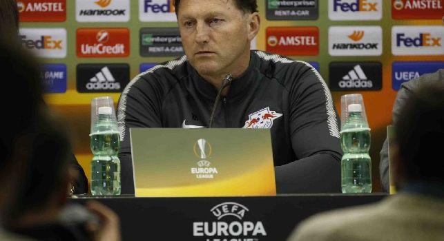 Hasenhüttl esalta il Napoli: Che squadra impressionante, è da Scudetto! Fiero di averli eliminati [VIDEO]
