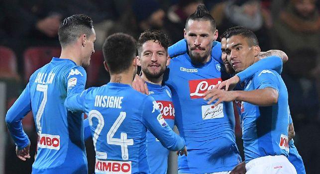 Cagliari-Napoli, le pagelle: <i>Mario Rui Costa</i>, Allan <i>fa venir meno i sensi</i>! Callejon <i>killer</i>, Insigne manda i sardi <i>ai matti</i>
