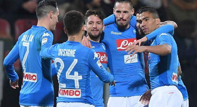 E' il Napoli ma sembra il Barcellona: Gazzetta esalta gli azzurri, tre esempi lo confermano