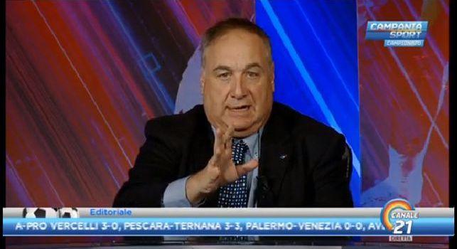 L'editoriale di Chiariello: C'è stata un'involuzione, Ancelotti ci ha illuso. Prima gli ottanta punti contavano poi dopo Bologna non più. Mettiamoci d'accordo, adesso vogliamo vincere [VIDEO]