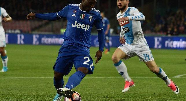 CorSport: Asamoah si libera a zero dalla Juve: tra Milano, Napoli e Roma la scelta è fatta