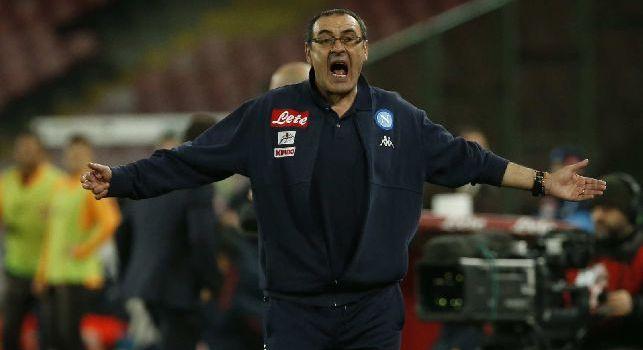 Sarri, allenatore del Napoli
