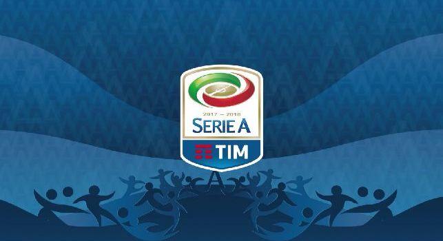 Logo ufficiale della serie A Tim 2017/18