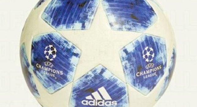 Champions League, già scelto il pallone per la prossima stagione: sarà griffato Adidas con i motivi azzurri [FOTO]