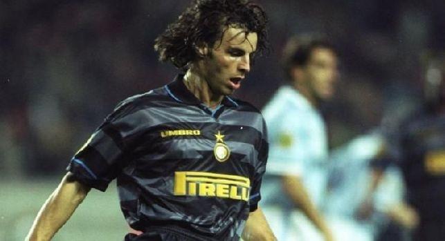 Colonnese in azione con la maglia dell'Inter