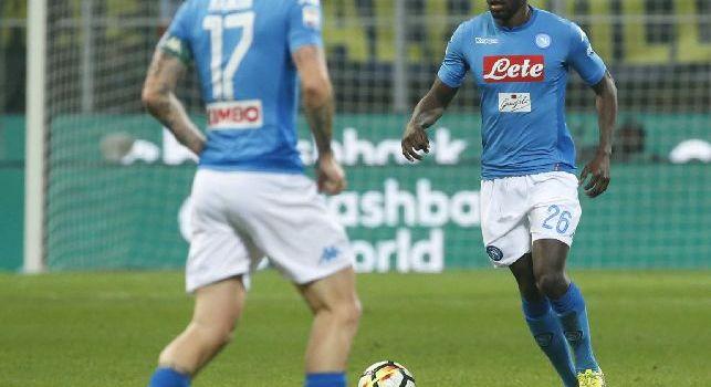 Koulibaly a Premium: Vincere a Milano non era facile, ma guai ora ad abbassare la testa. Per lo scudetto è ancora tutto aperto