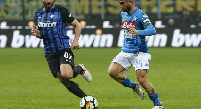Inter, Candreva a Premium: Le parole di Spalletti servono a punzecchiarci, peccato non aver vinto. Milan vicino? Non ci interessa