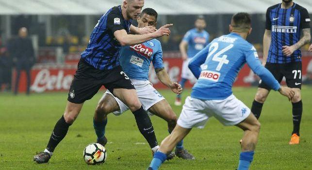 Inter, Skriniar: Il Napoli è forte in attacco, batterlo non sarà facile. Però ci siamo preparati bene e vogliamo la vittoria