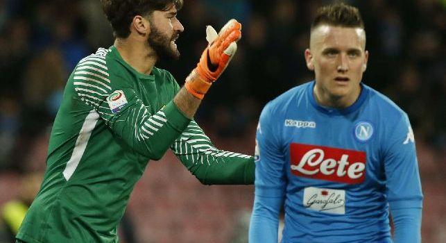 7 Gold - Napoli-Alisson, contattato l'entourage: Parliamone, potrebbe interessarci. Si valuta anche Handanovic: la situazione