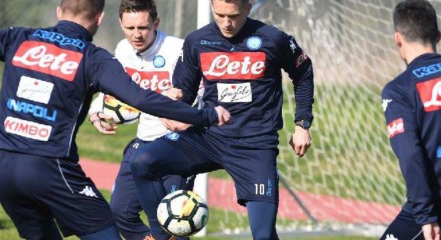 SSC Napoli, il report da Castel Volturno: seduta tecnico tattica specifica per i difensori, domani allenamento pomeridiano