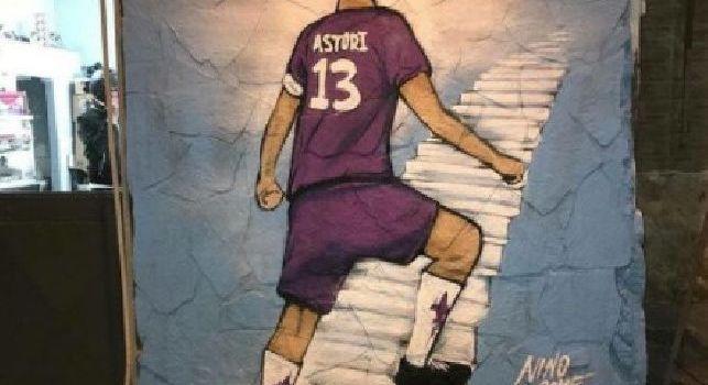 Napoli non ti dimentica, splendido murales in città dedicato a Davide Astori [FOTO]
