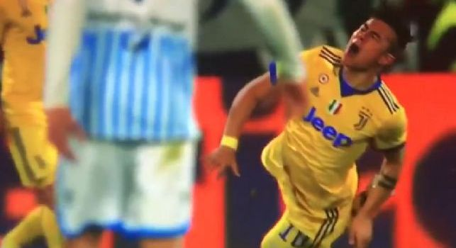 Dybala e il vizietto dei tuffi anche con la SPAL, il web si scatena: Ma è imbarazzante! [VIDEO]
