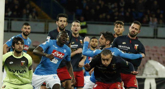 Napoli-Genoa, le pagelle: Albiol <i>798 giorni dopo</i>, Reina risponde ai <i>criticoni</i>! Jorginho <i>inventore</i>, Callejon <i>bruco</i> chiuso in un bozzolo