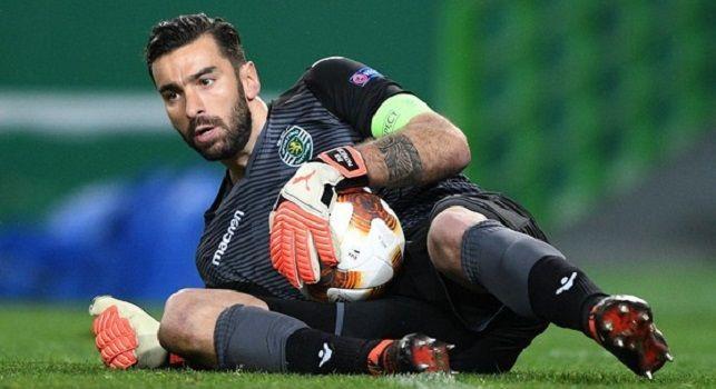 Il Mattino - Rui Patricio ai ferri corti con lo Sporting dopo l'aggressione: il Napoli resta in pole