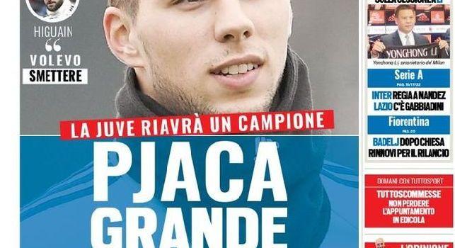 Tuttosport, la prima pagina: Lazio, c'è Gabbiadini!