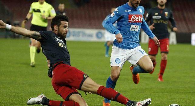 Genoa, Spolli: Contro il Napoli prestazione positiva ma non abbiamo raccolto punti: dobbiamo migliorare