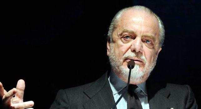 Ansa - De Laurentiis preoccupato sull'inizio dei lavori allo stadio San Paolo: lettera scritta al presidente dell'Anac