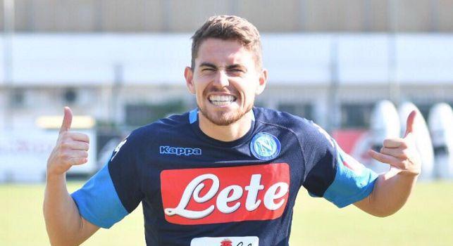 Jorginho, centrocampista del Napoli e della nazionale italiana