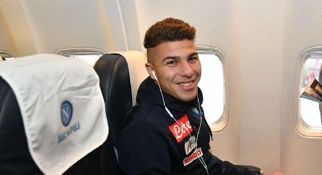 Zinedine Machach, centrocampista del Napoli