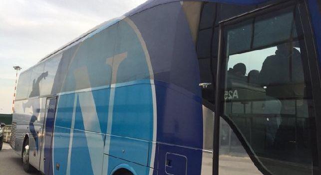 La SSC Napoli arriva a Milano: E come sempre ad attenderci c'è... [FOTO]
