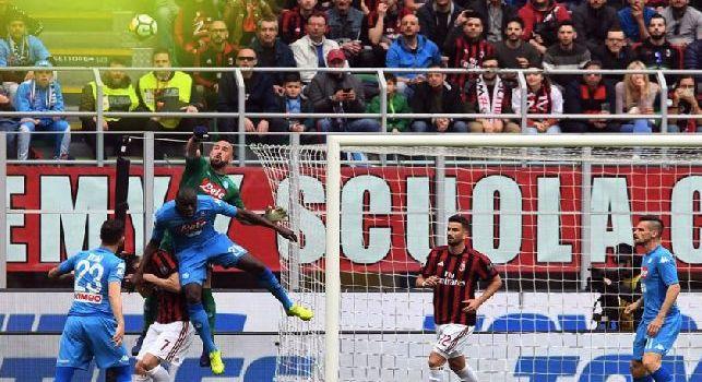 Milan-Napoli dalla A alla Z: dall'<i>insensibile</i> Gigio all'<i>Highlander azzurro</i>. Reina tra Zidane e Clark Kent, 'Quando' di Arek e la furia Sarri