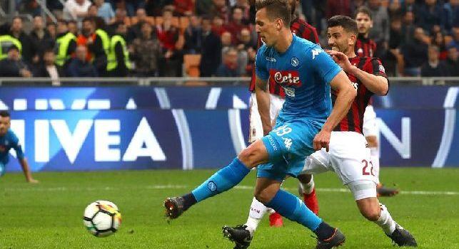 Corriere, Mandarini: Milik ha dormito poco stanotte, Mertens in calo. Udinese? Bisogna vincere