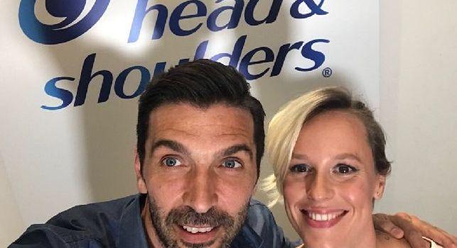 Intervista doppia Buffon-Federica Pellegrini: Speriamo Gigi non si ritiri, Che stima per la nuotatrice! Dopo Madrid? Sono andato a raccogliere funghi e margherite