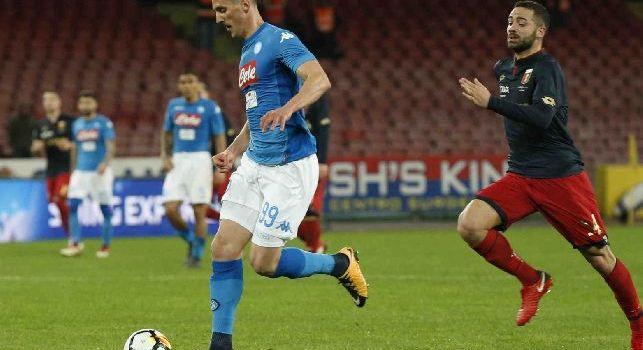 Premium, Donato: Il Napoli non ha le risorse della Juve, Milik merita di essere titolare