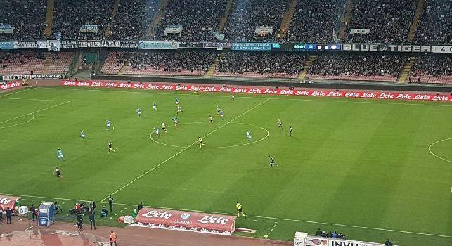 Napoli, stadio San Paolo dall'esterno