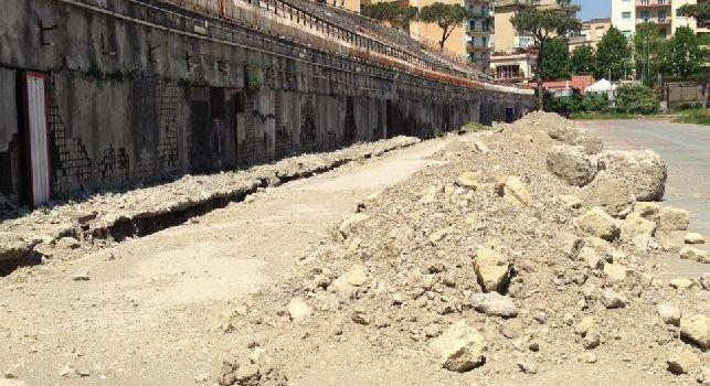 Stadio Collana, lavori in corso: Cannavaro e Ferrara attendono l'ok dalla Regione Campania