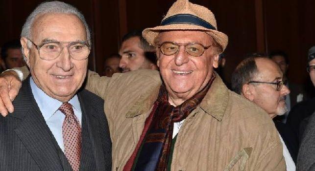 """Il famoso presentatore è juventino, lo showman tifa Napoli: domani  sperano di poter esultare. Baudo-Arbore, che sfida """"spettacolare"""""""