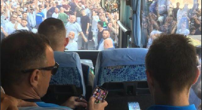 Starace su Twitter: I nostri tifosi ci amano  e ci sostengono con i loro cori [FOTO]