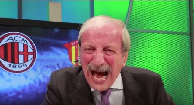 Milan, Crudeli scoppia in lacrime dopo la sconfitta contro il Benevento: Che figura di m***a, vergognatevi! [VIDEO]