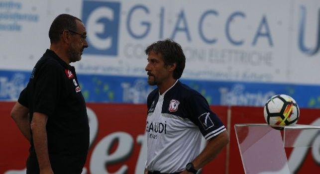 Bongiorni, ex collaboratore di Sarri a CN24: Al Chelsea perch&eacute; a Napoli non poteva fare di pi&ugrave;! Hamsik pu&ograve; fare il regista, Verdi falso <i>nueve</i> non mi dispiace