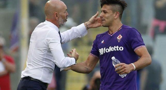 Frosinone-Fiorentina, le formazioni ufficiali: per Pioli c'è Pjaca, canarini con Vloet e Campbell alle spalle di Ciofani