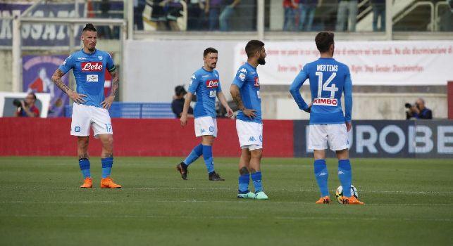 Fiorentina-Napoli, le pagelle: Allan <i>unico baluardo</i>, Mario Rui <i>disastroso</i>! Hamsik <i>assente</i>, Mertens <i>solitario</i>, Callejon <i>inoffensivo</i>