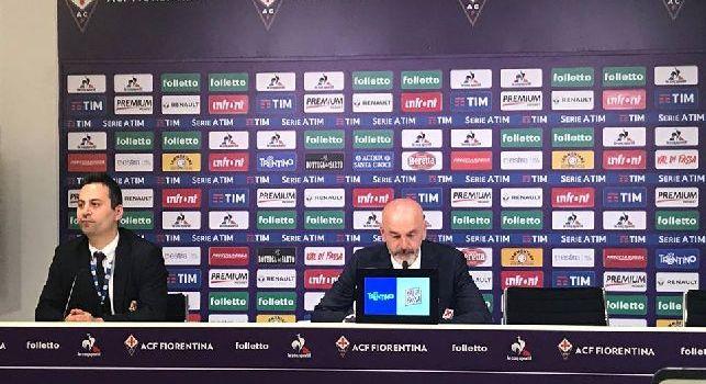 Fiorentina, Pioli: Per il Napoli non sarà facile far meglio dell'anno scorso. San Paolo semivuoto? Non mi piace. Ancelotti il migliore d'Italia insieme ad Allegri [VIDEO]