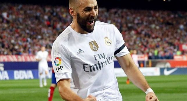 Karim Benzema al real Madrid: Ancelotti lo vuole al Napoli