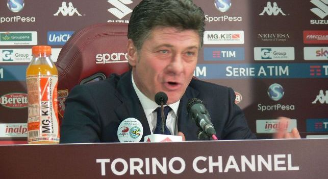 Walter Mazzarri in conferenza stampa
