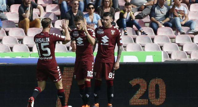 Torino, Baselli: Abbiamo regalato un gol al Napoli, ma poi li abbiamo messi in difficoltà. Fascia da capitano? molto emozionante