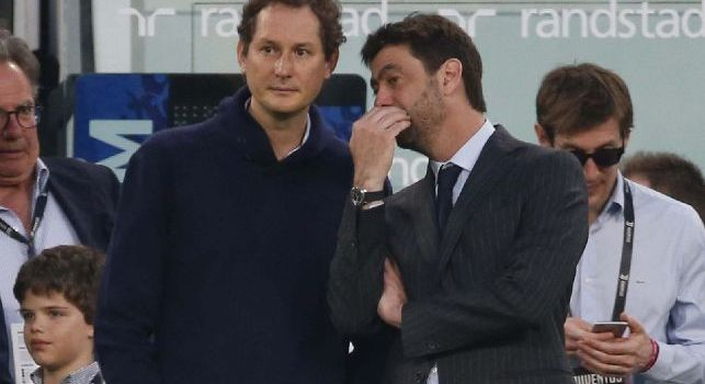 Juventus, Agnelli ed Elkann